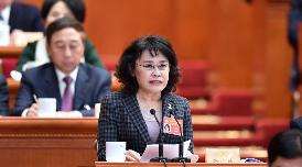 中國殘疾人聯合會主席團主席,北京2022年冬奧會和冬殘奧會組織委員會執行主席、黨組副書記 張海迪