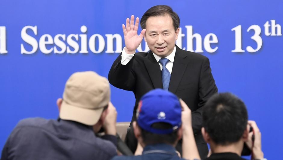 生态环境部部长 李干杰