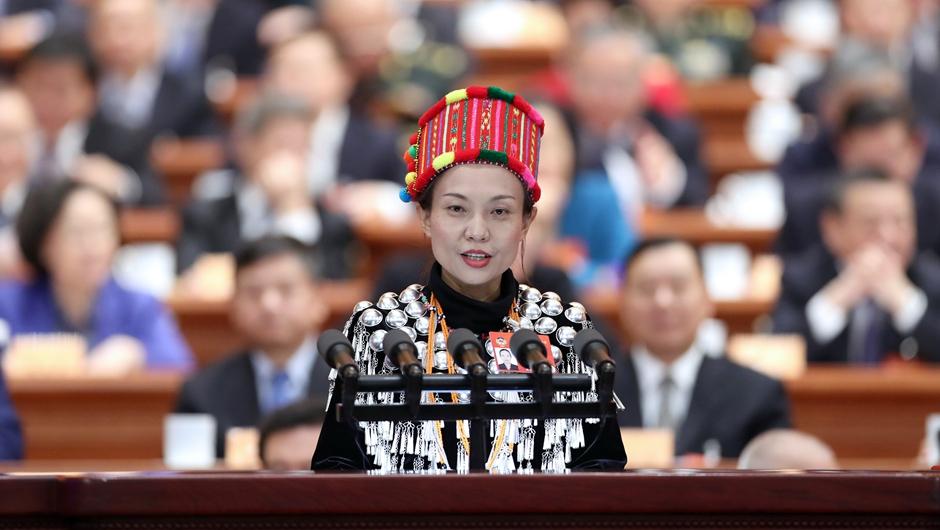 何慶委員作大會發言