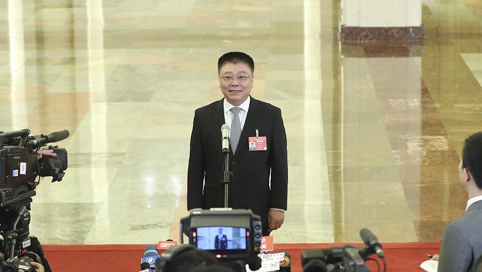 住房和城鄉建設部部長王蒙徽接受採訪