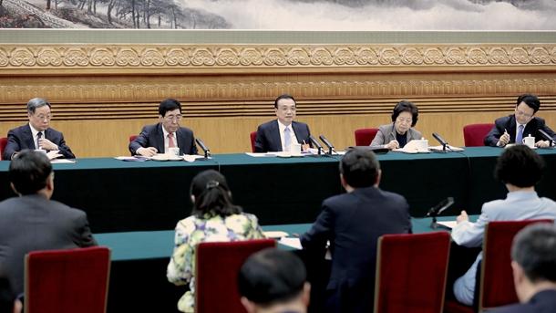 李克强参加吉林代表团审议