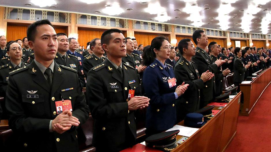 十三屆全國人大二次會議在北京閉幕