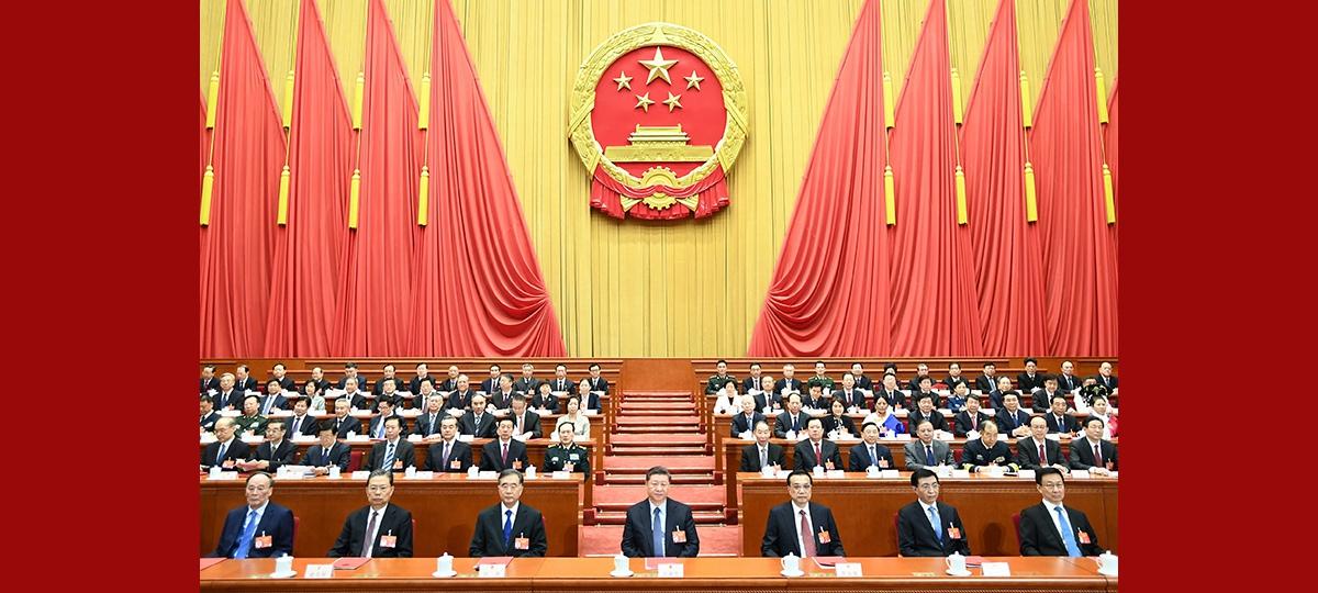 Chinas nationale Gesetzgebung schließt Jahrestagung ab