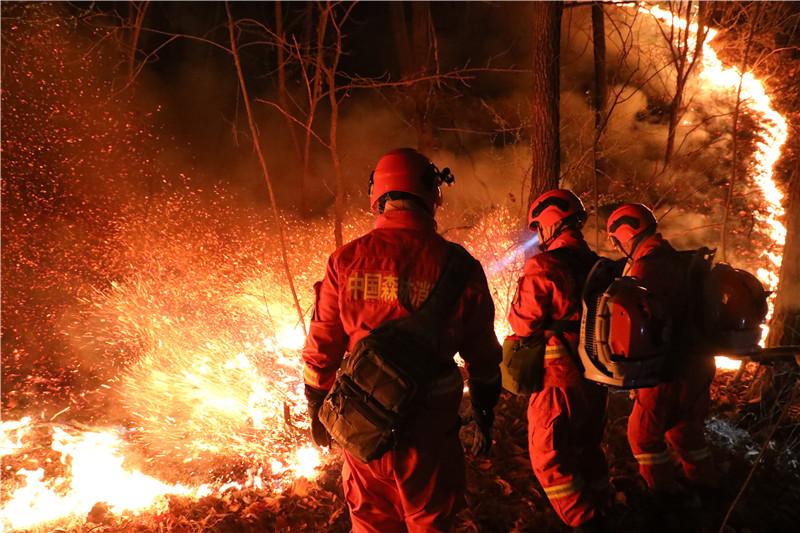 不畏艰险 穿越火线——走近吉林省森林消防总队消防员