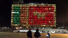 以色列:亮灯悼念斯里兰卡爆炸遇难者