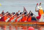 上海龙舟端午在台北、高雄竞渡