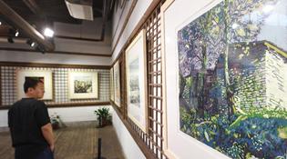 福建:松溪版畫展現生態家園