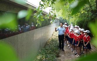 河北巨鹿:暑假裏的愛國教育