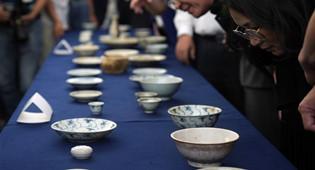 190余件清代沉船瓷器入藏国博