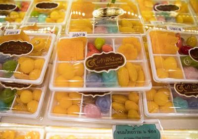 """泰国甜点中的""""黄金三宝"""""""