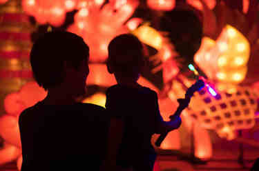 香港舉行中秋彩燈會