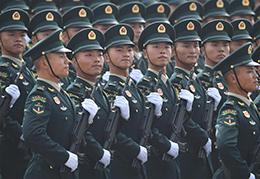 火箭军方队:首次以战略军种名义亮相国庆阅兵