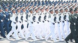 院校科研方队:平均学历最高 首次亮相国庆阅兵
