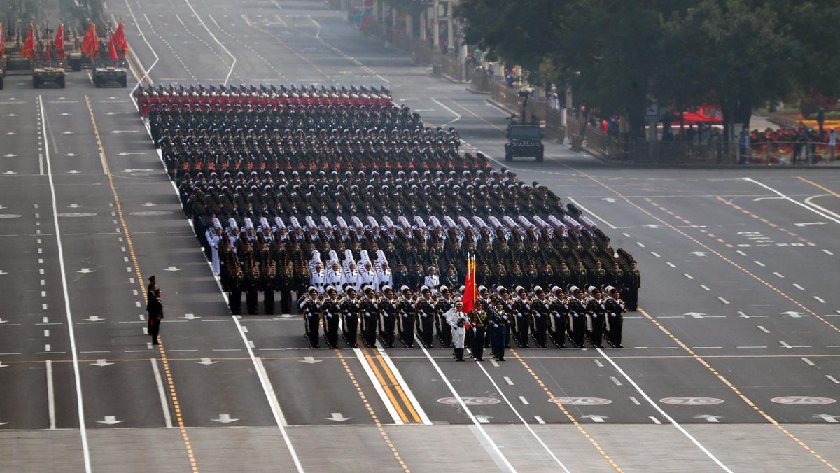庆祝中华人民共和国成立70周年大会在京隆重举行(三)
