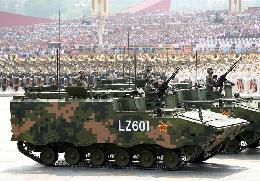 反坦克导弹方队:重型反坦克武器系统接受检阅