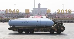 巨浪-2导弹方队:我国最新型潜射战略导弹首次公开亮相