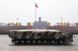 东风-31甲改核导弹方队:扛起重大责任的大国重器