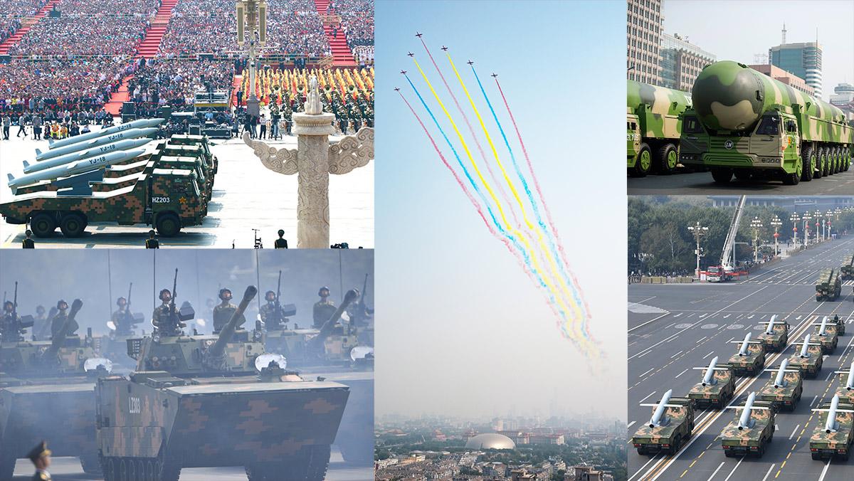 国庆70周年阅兵 - 直播[录像回放] 习近平将检阅受阅部队