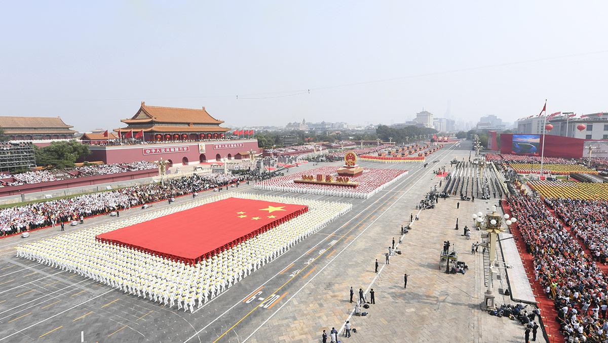 """""""伟大中国为世界增添无限绚丽光彩"""""""