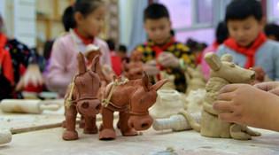 陶瓷技艺进校园