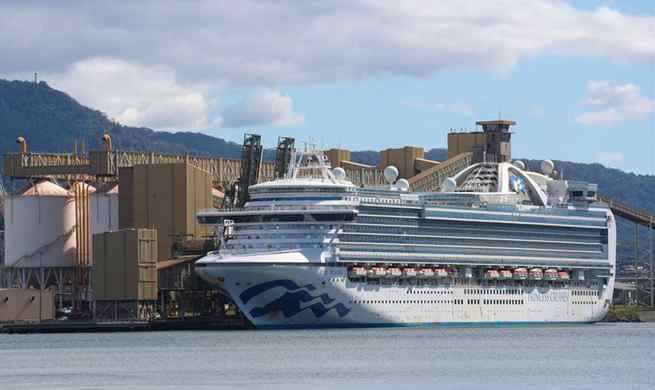 Australia launches criminal investigation into virus-hit cruise ship docked in Sydney