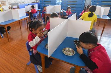 長沙:幼兒園開學啦!
