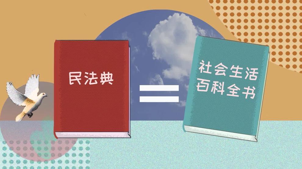 """""""中国为什么能""""系列短视频第四集:民法典这样关乎你整个人生"""