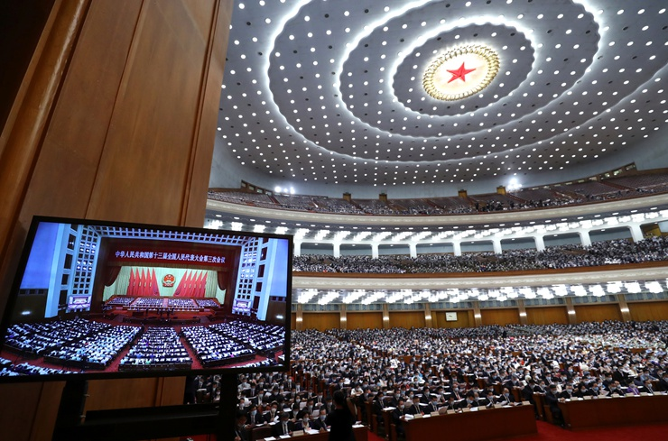 新華社社評:凝聚決戰決勝的磅薄力量 ——寫在十三屆全國人大三次會議開幕之際