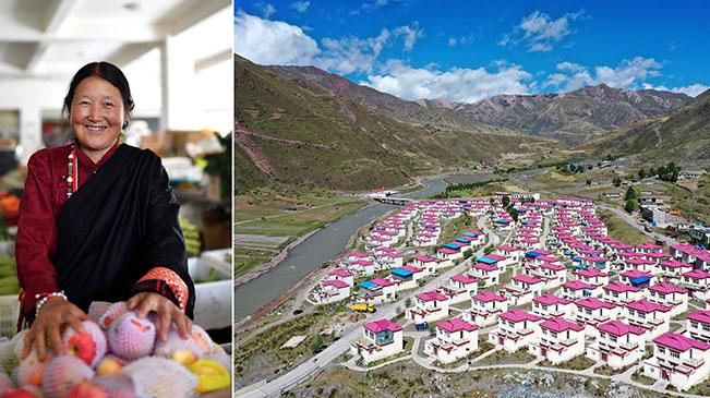 藏东脱贫影像:我们住进了新房子