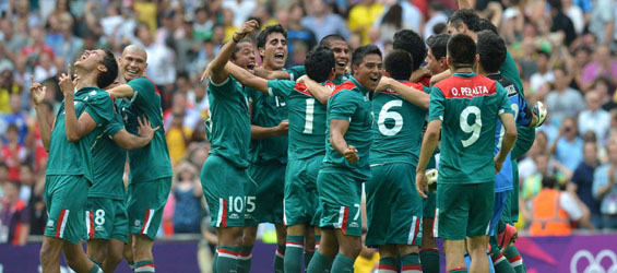 Mexico beat Brazil 2-1 to win their first ever soccer gold medal