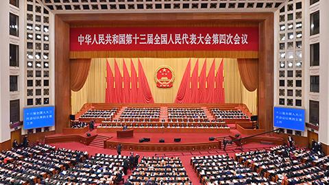 十三屆全國人大四次會議第二次全體會議