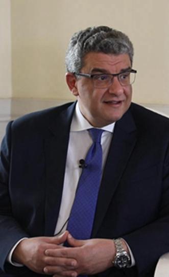 """埃及駐華大使:""""一帶一路""""倡議促進貿易,打通民間交往的渠道"""