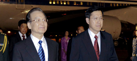 Chinese premier arrives in Thailand for official visit