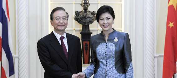 Chinese premier meets with Thai PM