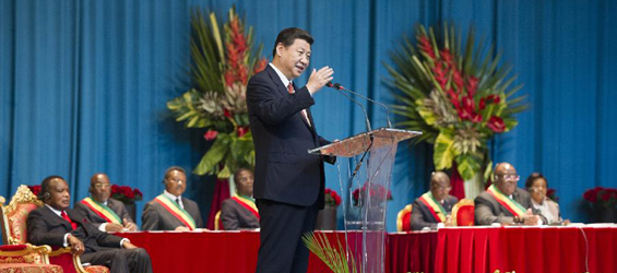 Xi pledges to enhance co-op with Republic of Congo, Africa