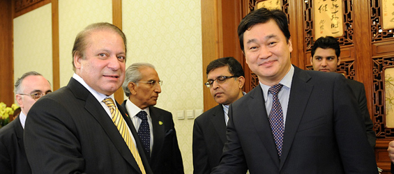 Pakistani prime minister meets Xinhuanet CEO