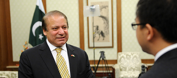 Pakistani prime minister gives exclusive interview to Xinhuanet