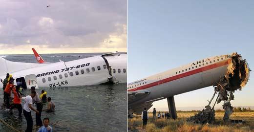 盘点近年来的飞机失事事故