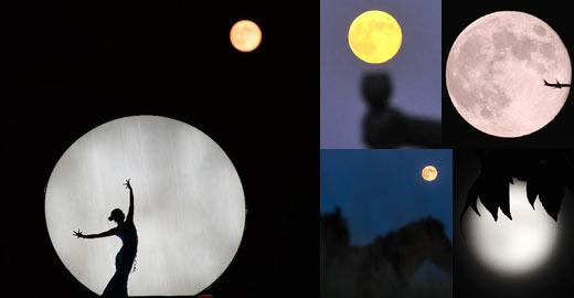 十五的月亮十五圆 中秋节各地圆月美景