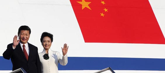 Chinese president arrives in Bali island for APEC meeting