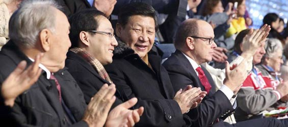 Sochi Winter Olympics opens, Xi attends opening ceremony
