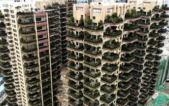 """成都建首個""""垂直森林""""住宅小區"""