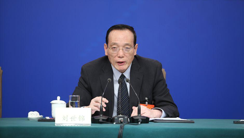 劉世錦回答記者提問
