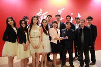 新華網代表隊獲新華社職業形象展示最佳風尚獎