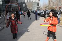 """新華網女職工舉行""""三八節""""戶外運動"""