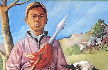 上世纪60年代,电影《鸡毛信》家喻户晓,故事里的主人公海娃,赶着羊群