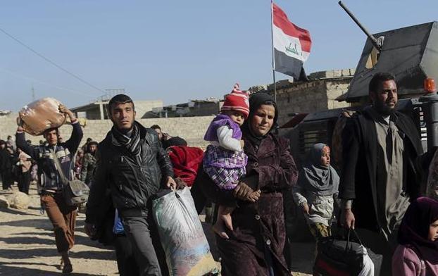 伊拉克政府軍收復摩蘇爾西部城區首個街區