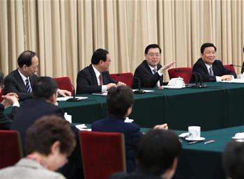 張德江參加江蘇代表團審議