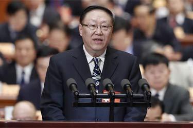 全國政協十二屆五次會議第三次全體會議大會發言