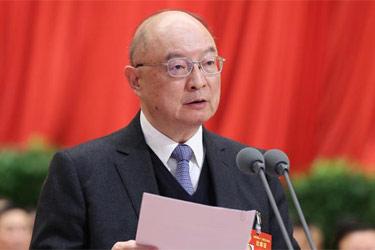 全國政協十二屆五次會議舉行第四次全體會議